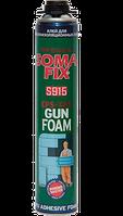 Профессиональная монтажная пена клей Soma Fix Mega, 850 мл