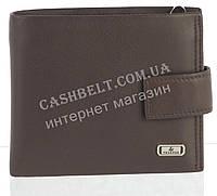 Прочный стильный кожаный мужской кошелек из мягкой кожи с визитницей Loui Vearner art. LOU84-594C коричневый