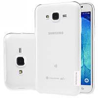TPU чехол Nillkin Nature для Samsung J500H Galaxy J5 (Бесцветный)