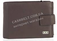 Прочный стильный кожаный мужской кошелек из мягкой кожи Loui Vearner art. LOU84-056С коричневый