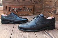 Мужские  туфли броги Borelli, 27 см, 42 размер. Код: 053.