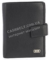 Прочное стильное кожаное мужское портмоне-бумажник из мягкой кожи Loui Vearner art. LOU84-368A черный, фото 1