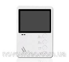 Домофонный монитор цветной SW-407 (белый) на 4,3 дюйма