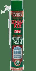 Монтажная пена полиуретановая Soma Fix Extra, летняя 850 мл