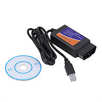 Диагностический сканер для авто OBD-2 ELM327 USB, OBD-2-EL-M327, OBD 2 ELM327,Харьков
