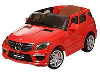 Детский электромобиль Mercedes Benz ML 63 ELR-3 с кожаным сиденьем