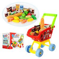 Візок 23001A супермаркет, продукты, кор., 31-25-21 см