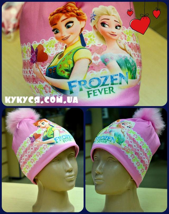 Детская шапочка с принтом