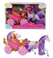 Кукольный набор Эви и сказочная карета с лошадью Simba Toys 5735754