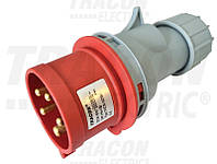 Вилка 5*16А IP44 (полиам) 3105-301-1600 t-plast
