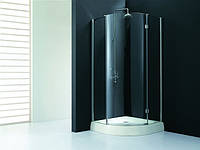 Душевая кабина KollerPool Waterfall Line AF9B профиль хром, стекло clear прозрачное Anti Calc, 900х900х1850 мм