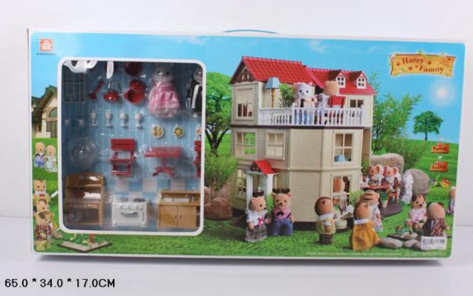 Тварини флоксовые Happy Family 012-10