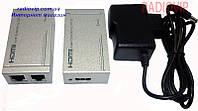 Устройство передачи HDMI по кабелю витая пара 60 м HD-EXD60