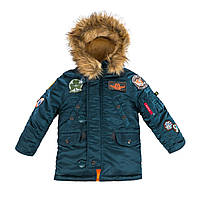 Детская Аляска куртка зимняя N-3B Maveric Parka Alpha industries, фото 1