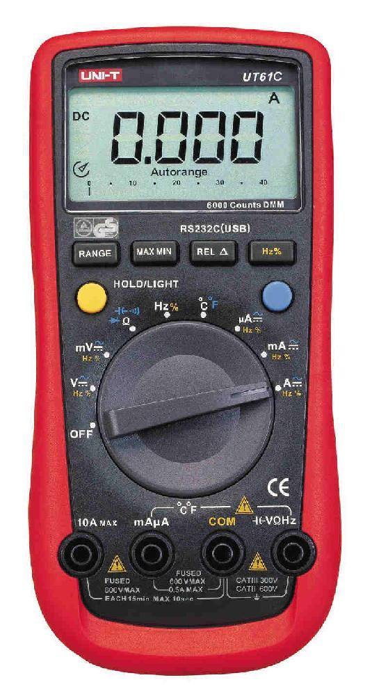 Мультиметр цифровой UNI-T UT-61C