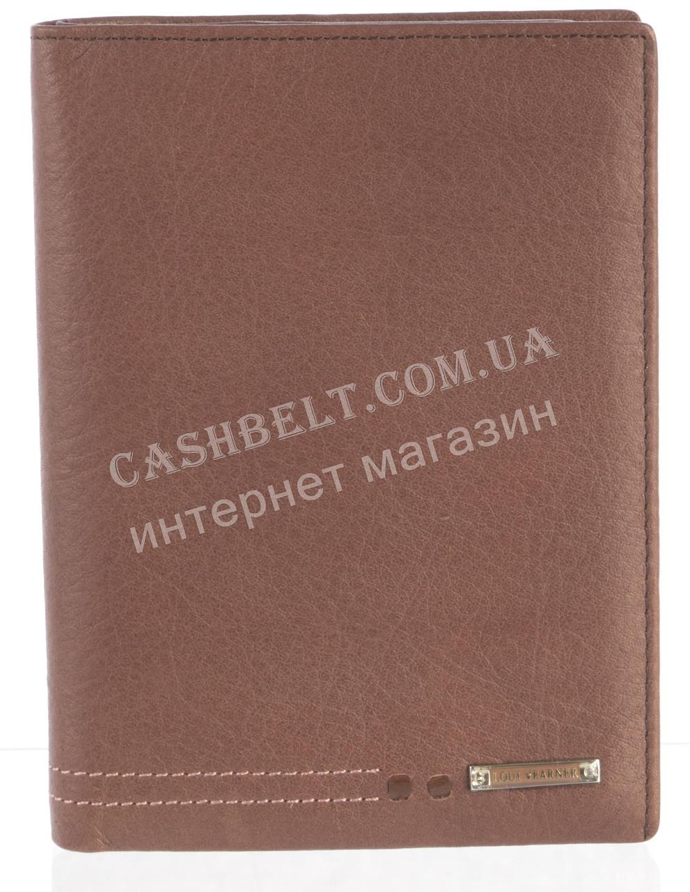 Стильная элитная кожаная документница высокого качества LOUI VEARNER art.LOU-4207M коричневый