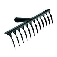 Грабли металлические крученые 12 зуб 350*90 мм