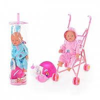 Кукла Беби Борн  Baby Born с коляской. BB RT 07-02 CDZ