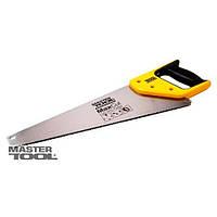 Ножовка столярная 450 мм, 4TPI MAX CUT, каленый зуб, 2-D заточка, полированная