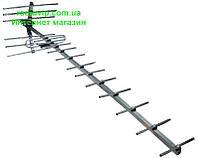 Антенна телевизионная наружная ДМВ(Т2) тип АНТ-19-20-б. с отражателем
