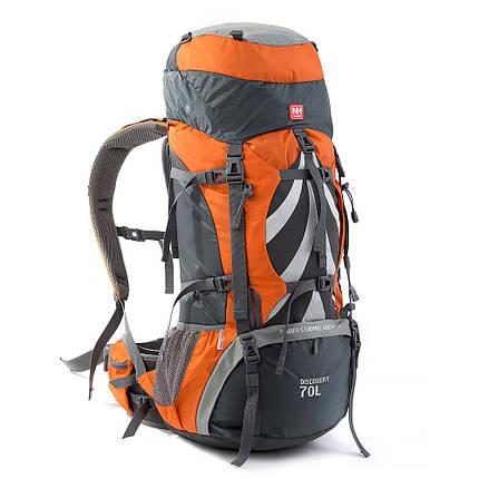 Рюкзак туристический 70л Naturehike NH70B070-B, фото 2