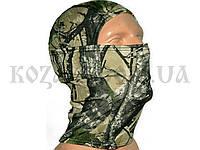 Шлем-маска полиэстер лес зимний