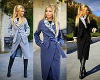 Зимнее женское кашемировое пальто мод.904 (р.42-48)