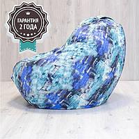 Кресло мешок SanchoBag M 110x80 см Print Water (606)