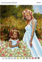 """Схема для частичной вышивки бисером """"Цветы для дочери"""""""