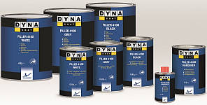 Грунт-наполнитель DYNA Filler 4100 +отвердитель HARD(4л + 1л)
