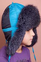 Детская шапка-ушанка для мальчика