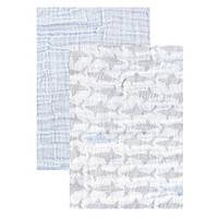Комплект пеленка плед муслин ТМ Yoga Sprout 117*117 см