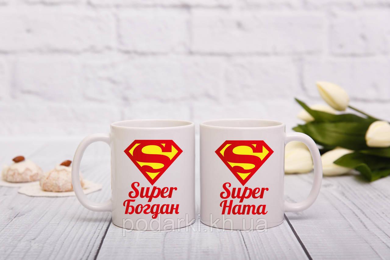 Парные кружки для SUPER пары