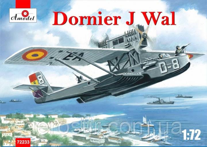 Летющая лодка Dornier J Wal 1/72 AMODEL 72233