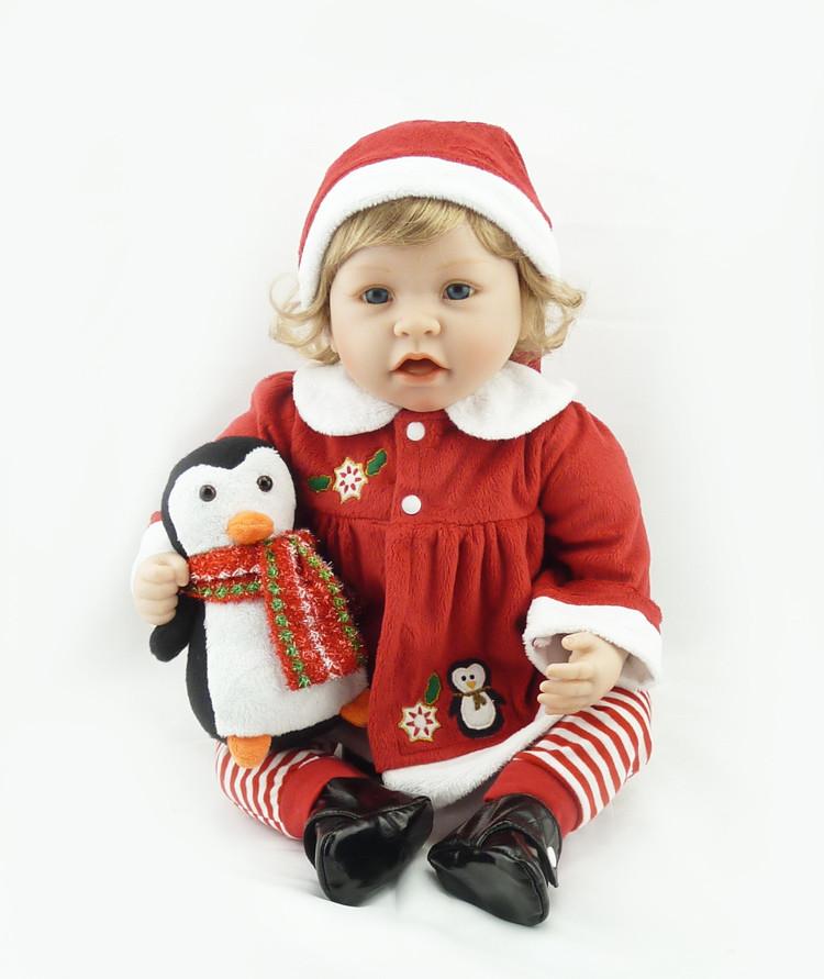 Кукла реборн новогодняя.Кукла,пупс reborn.Подарок к Новому Году., фото 1