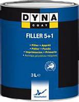 Грунт толстослойный DYNA Acrylic Filler 5 + 1 (1л)(белая)