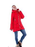 Стеганная зимняя женская куртка
