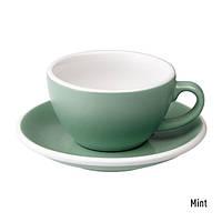 Чашка и блюдце для капучино Loveramics Egg Cappuccino Cup & Saucer Mint (200 мл)