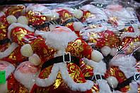 Брелок Дед Мороз 17см