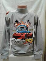 Детский батник на мальчика (машина спортивная) 4-7 лет