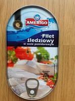Сельдь File sledziowy w sosie pomidorowym (Сельдь в томатном соусе) 170 г. Польша