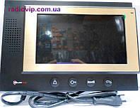 Видео-Домофон цвет.  без памяти Черный PC-701 B