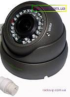 Купольная IP камера Green Vision GV-002-IP-E-DOS24V-30 Gray