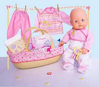 Famosa Nenuco Пупс Ненуко 42см с набором аксессуаров для новорожденного.