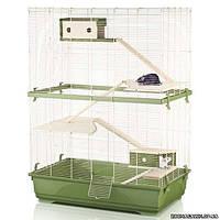 Imac РЭТ 80 ДАБЛ ВУД (RAT 80 DOUBLE WOOD) клетка для крыс, пластик 80х48,5х108,5 см.