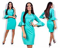 Женское осеннее платье 22- 844