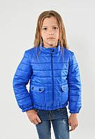 Практичная качественная весенняя куртка на девочку Моне.