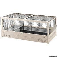 Ferplast ARENA 120 Клетка деревянная для морских свинок и кроликов, 125 x 64,5 x h 51 см.