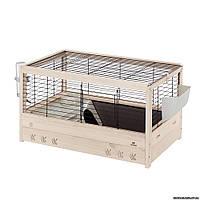Ferplast ARENA 80 клетка деревянная для морских свинок и кроликов, 82 x 52 x h 45,5 см.