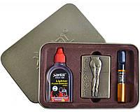 Подарочный набор SEXY 3в1 Зажигалка, бензин, мундштук №4713-4 SO